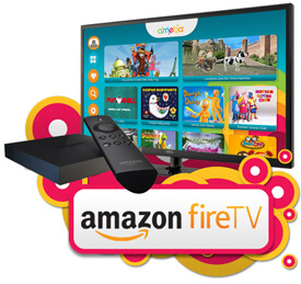 Available on Amazon Fire TV
