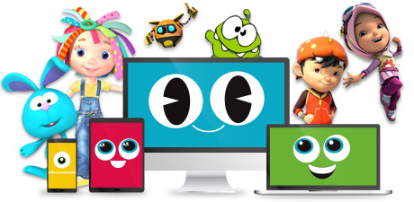 Ameba characters and devices